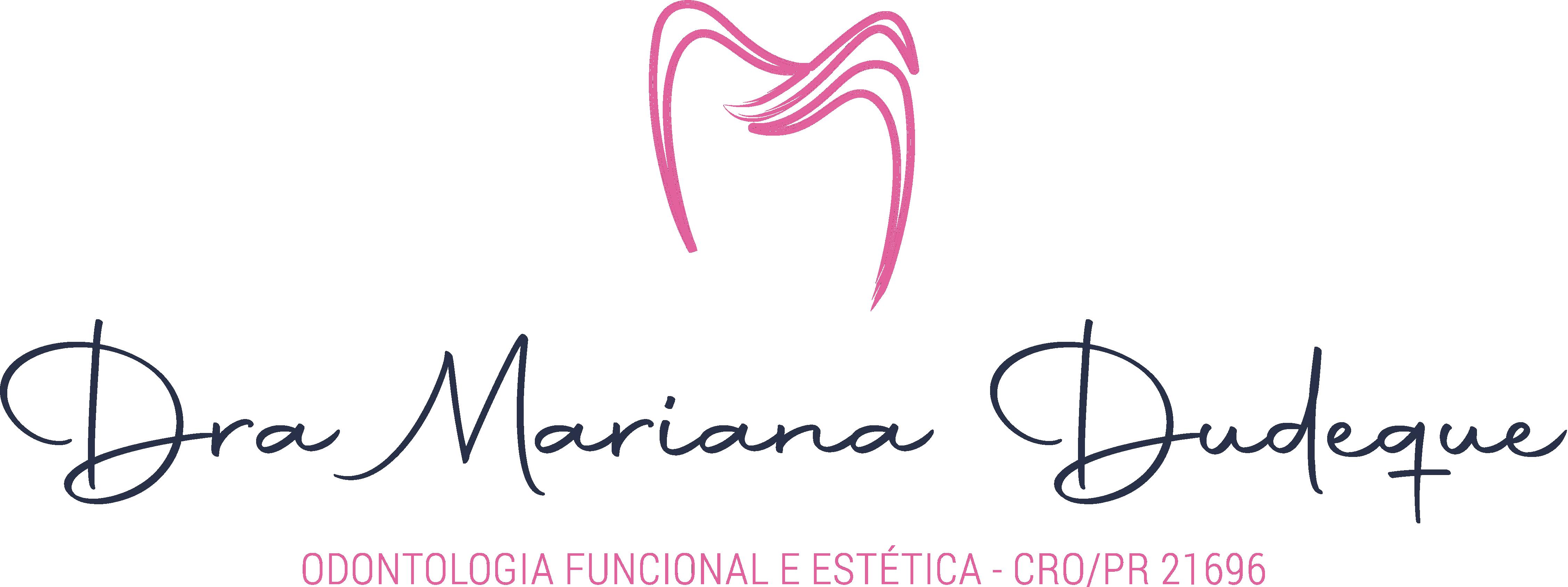 Logo 07 - Dra Mariana Dudeque